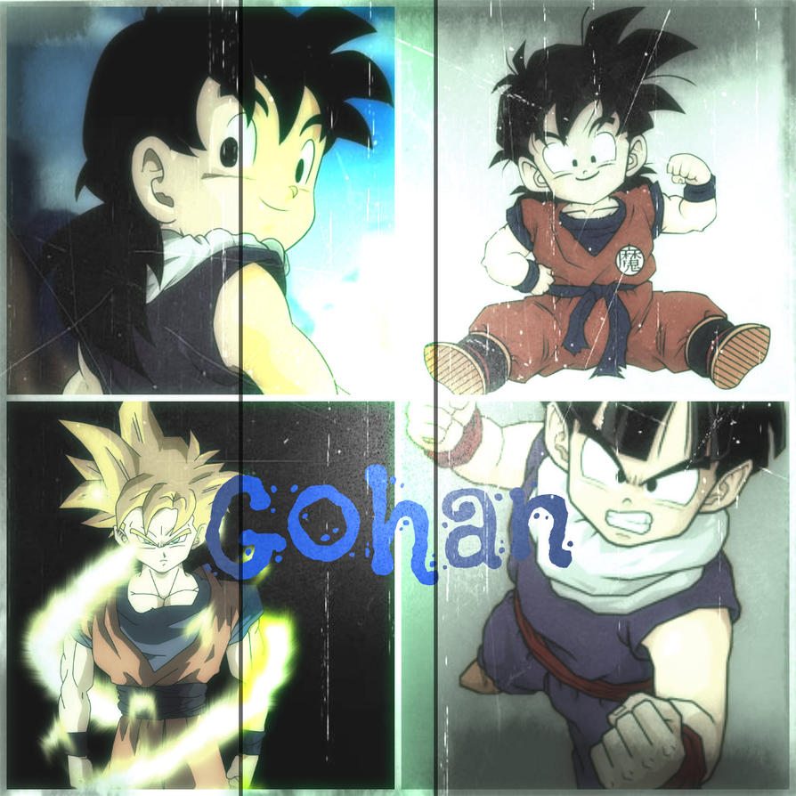 Gohan Changes by LittleJohan