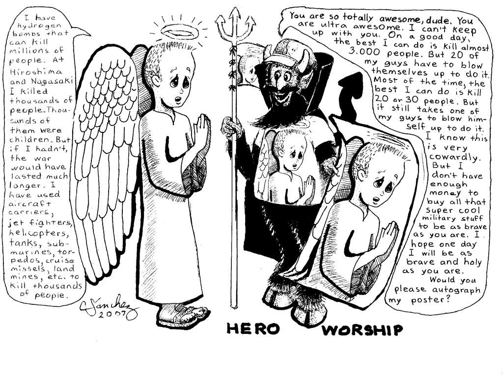 Hero worship by Sanchez-Medina on DeviantArt