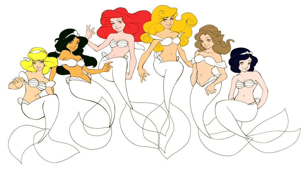 Image Result For Princess Ariel Coloring