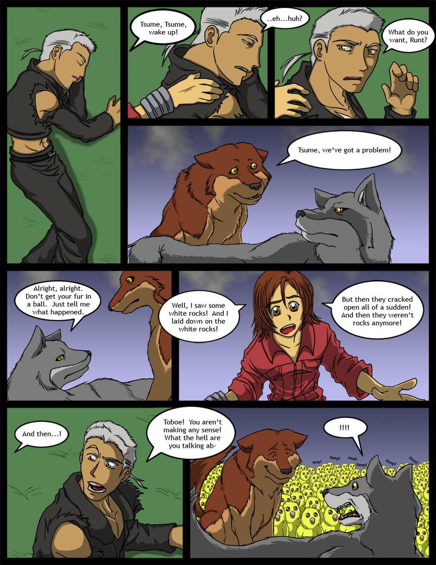 Wolf's Rain:  White Rocks by neo-dragon