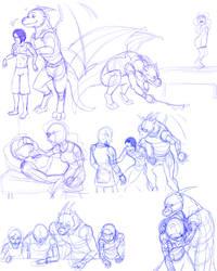 Sketch Dump 3 by neo-dragon