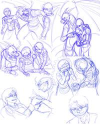 Sketch Dump 4 by neo-dragon