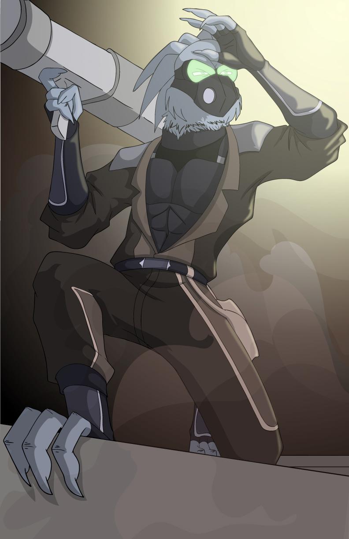 OCXchange Prompt: Cyberpunk Reegan Keaton