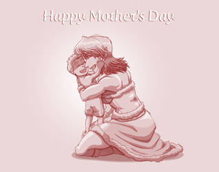 Happy Mother's Day from Fate Saga! by neo-dragon