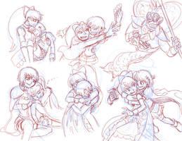 Kyousaya Sketches