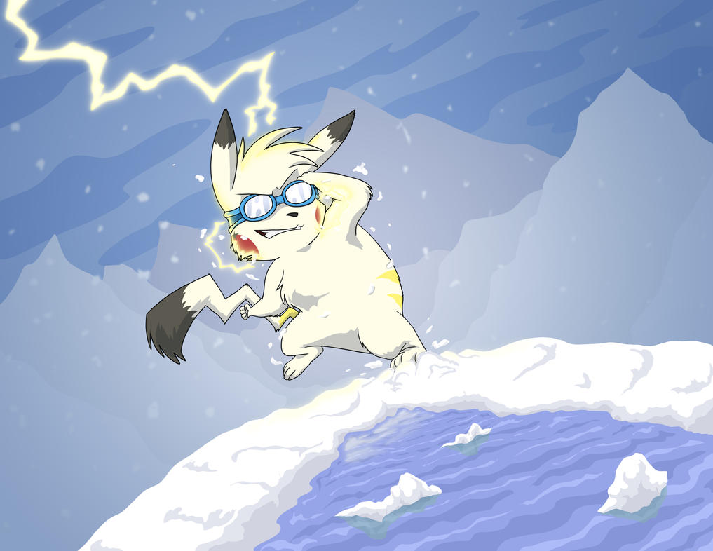 Snow Electric Chu Commission by neo-dragon