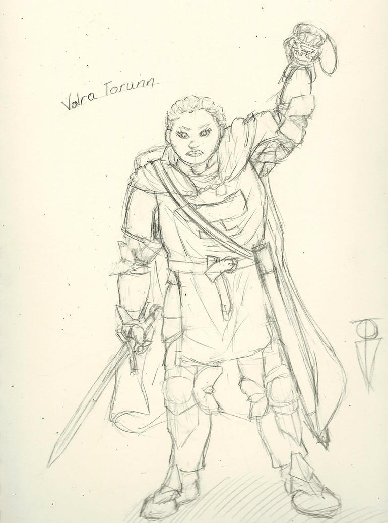 Dwarf Cleric by RosewoodWonder