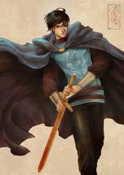 Ksatria Jubah Biru by Archie-The-RedCat