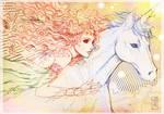 Unicorn and Queen Fairy