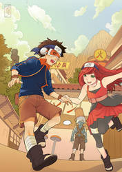 Comm : Obito and Rena by Archie-The-RedCat