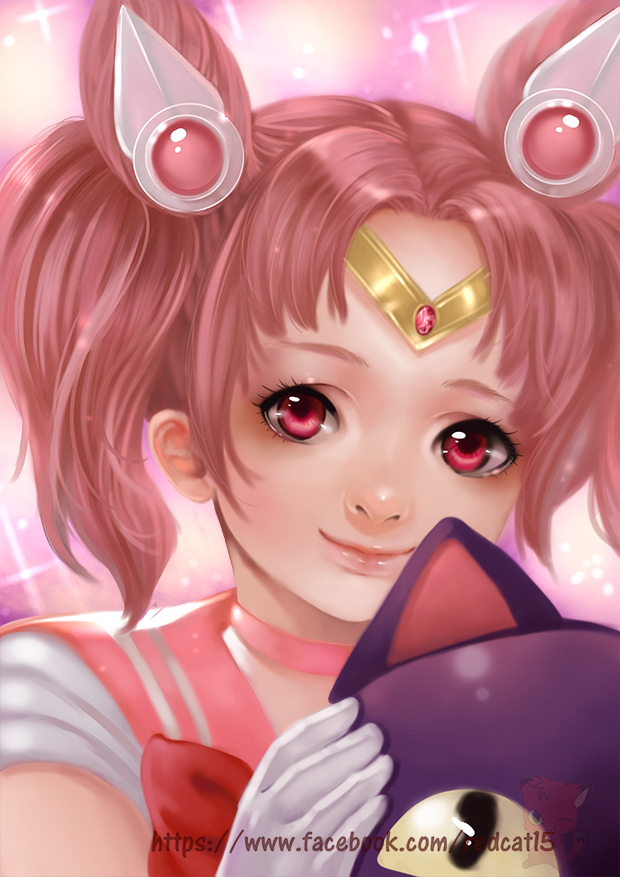 Sailor Chibimoon by Archie-The-RedCat