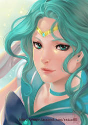 Sailor Neptune by Archie-The-RedCat