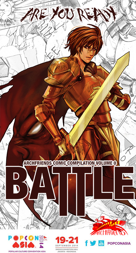 BATTLE by Archie-The-RedCat
