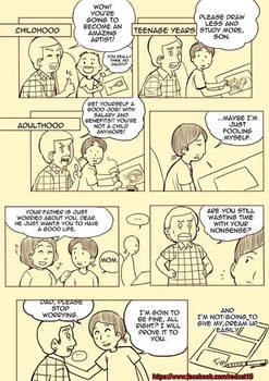 Parents and Pursuing Dreams