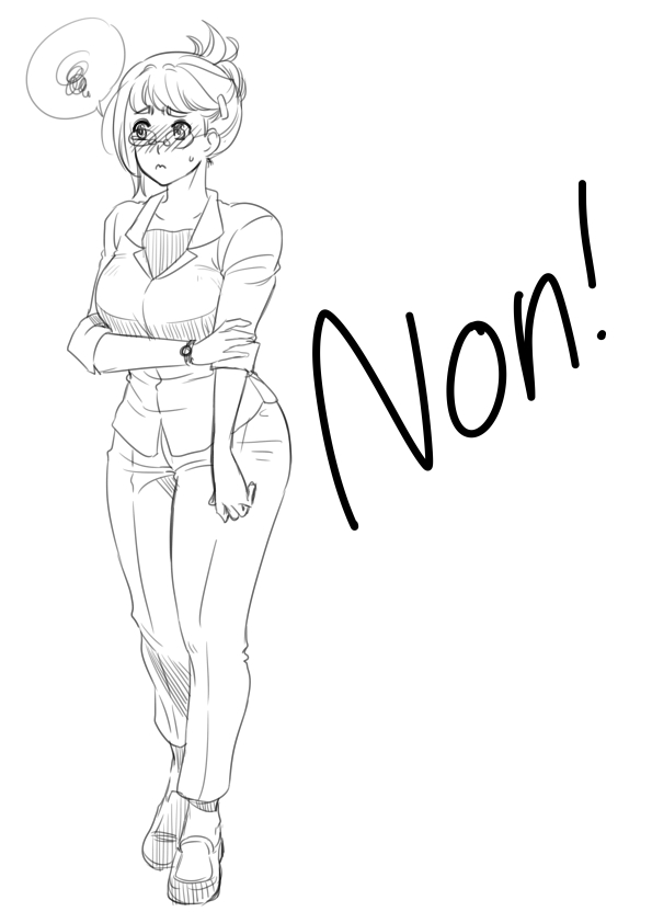 Non by Archie-The-RedCat