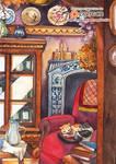 watercolor : Naptime