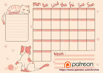 Juli Bullet Journal. by Archie-The-RedCat