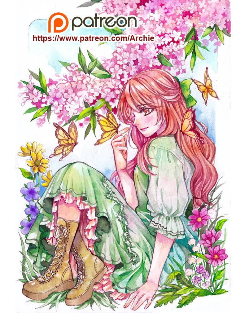 Flower Ranpprev by Archie-The-RedCat