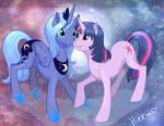 Twilight Sparkle and Princess Luna