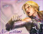 Nina Williams SF X T Wallpaper