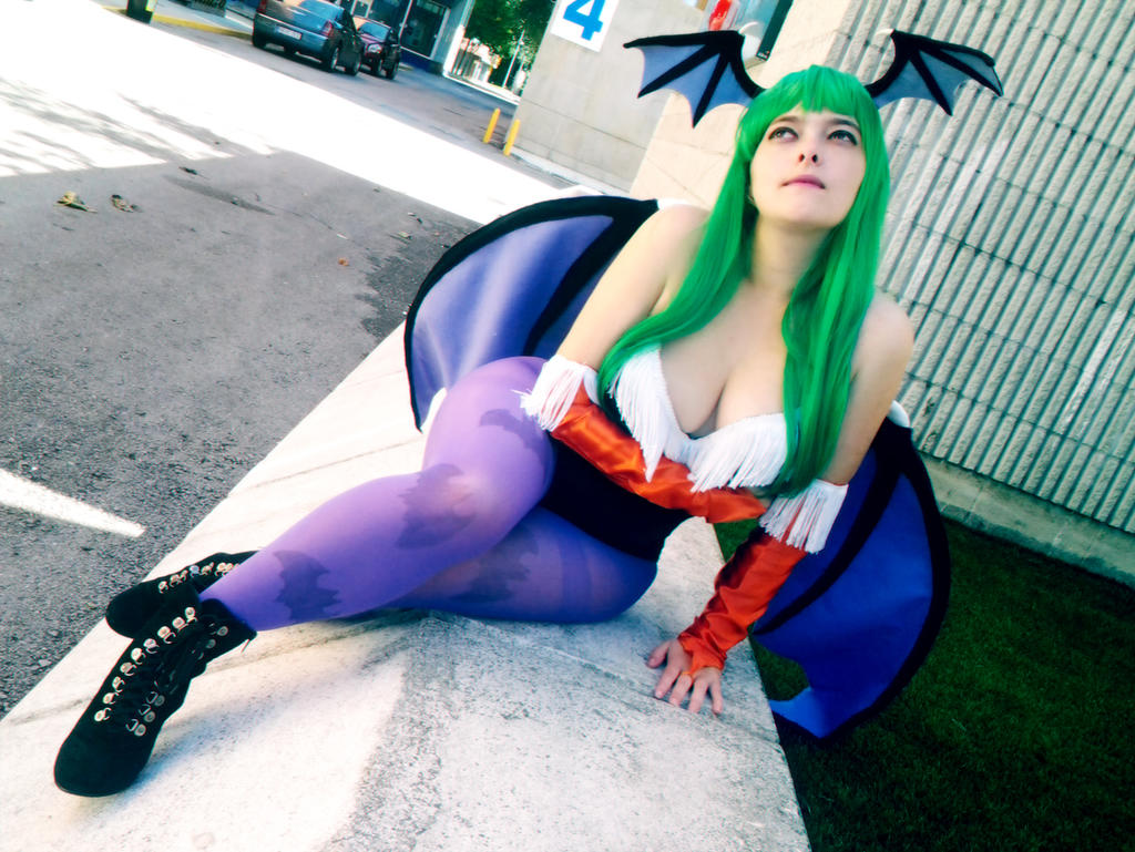 Morrigan Cosplay 4 by Edaine