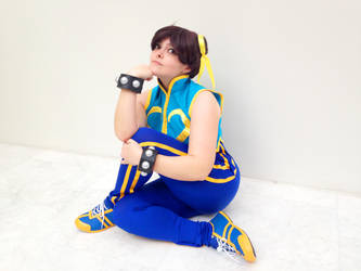 Chun Li Cosplay - Street Fighter Alpha by Edaine