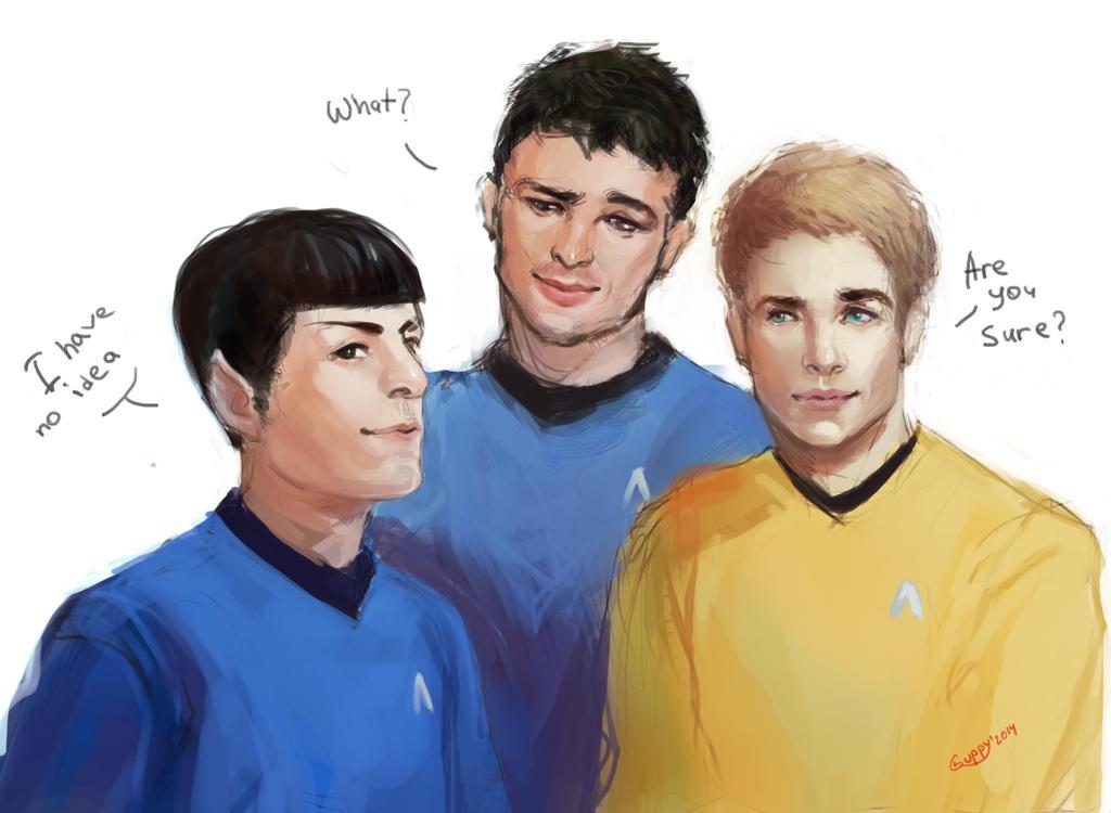 Star Trek. by GuppyBlue