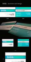 SHDD. business card design by Basti93