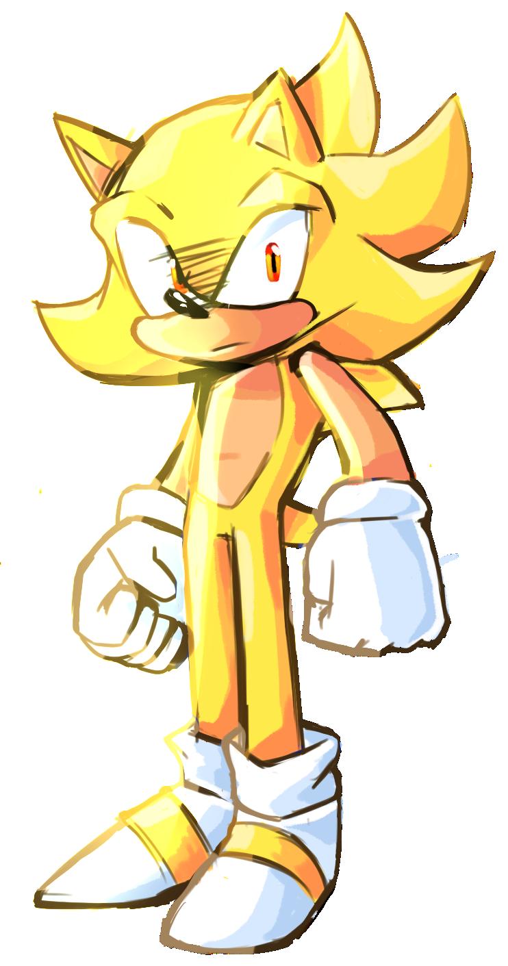 Super Sonic by ProBOOM on DeviantArt