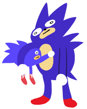 Sanic and Sanic.jr