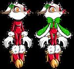 CHRISTMAS RAINDEER ADOPTABLE (CLOSED)