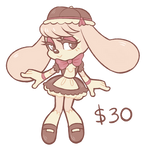 Cafe Latte Bunny Adopt (SOLD)