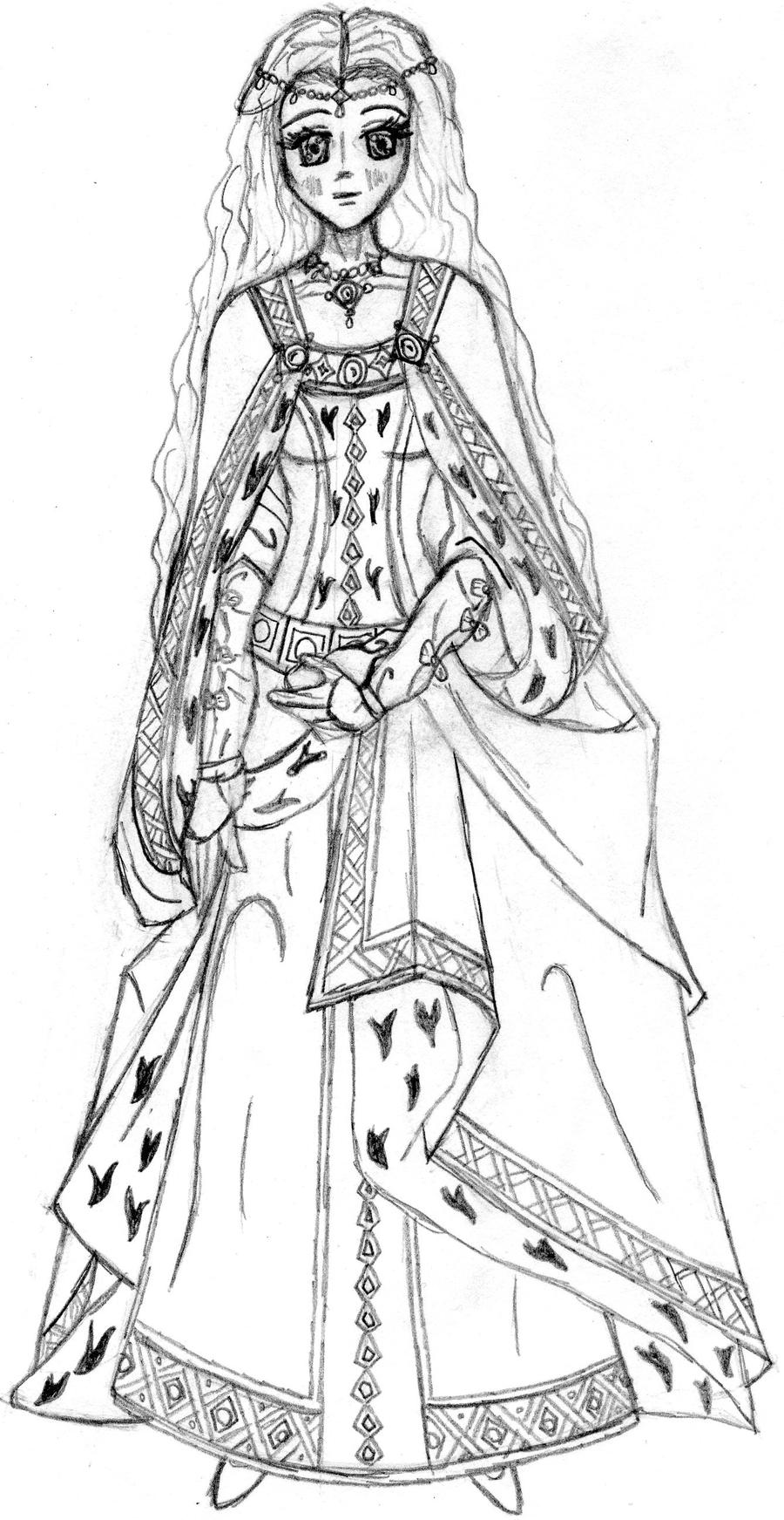 The Middle Ages Princess By Purplepenguinstar360 On Deviantart