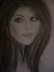 Selena Gomez (Practice) by PurplePenguinStar360