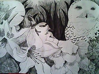 The Hatching Garden by PurplePenguinStar360