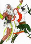 Kratos vs Zeus quase 2