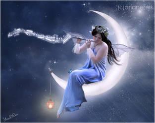 la luna by arianereis