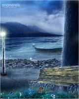 in silent rain by arianereis