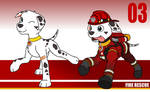 PAW Patrol: Marshall Redesigned (OUTDATED)
