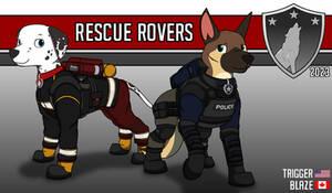 PAW Patrol Redesigned: Blaze and Trigger