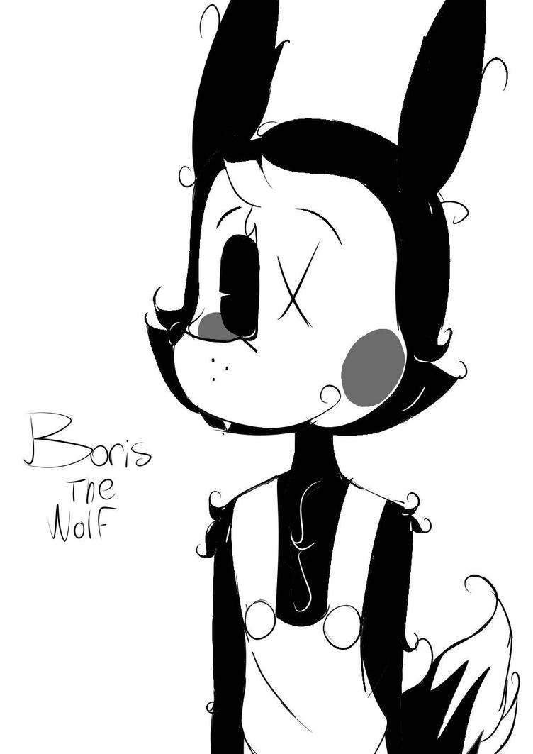 Boris The Wolf (Batim) by RWQFSFASXCTheBunny