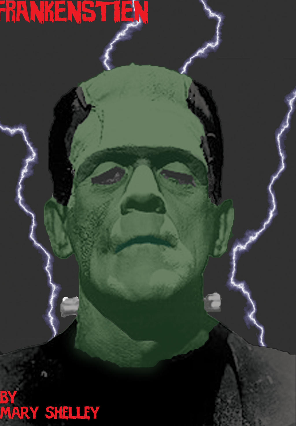 Frankenstein Book Cover Art ~ Frankenstein book cover reloaded by fraggerboi on