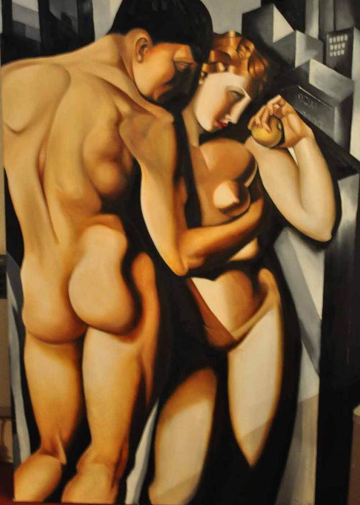 Lempicka Adam And Eve Lempicka 2 Adam And Eve by