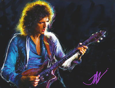 BRIAN MAY by JALpix