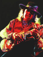 STEVIE RAY VAUGHAN by JALpix