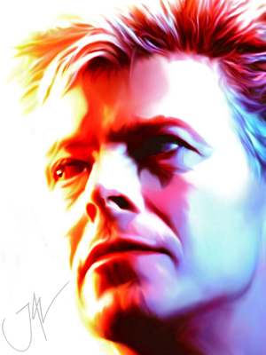 DAVID BOWIE #7 by JALpix