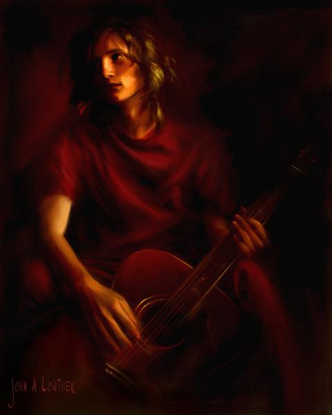 The Guitarist by JALpix