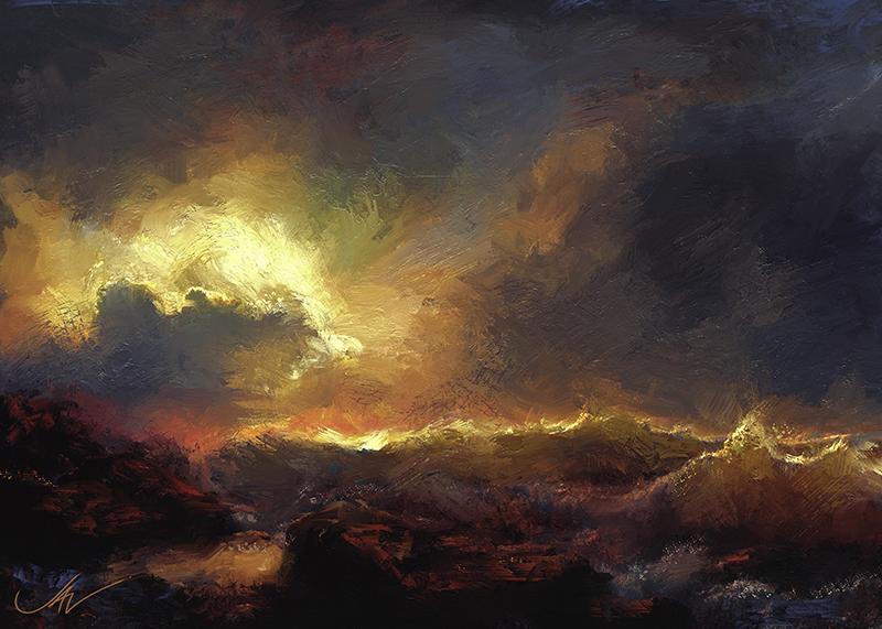 Stormy Seas by JALpix