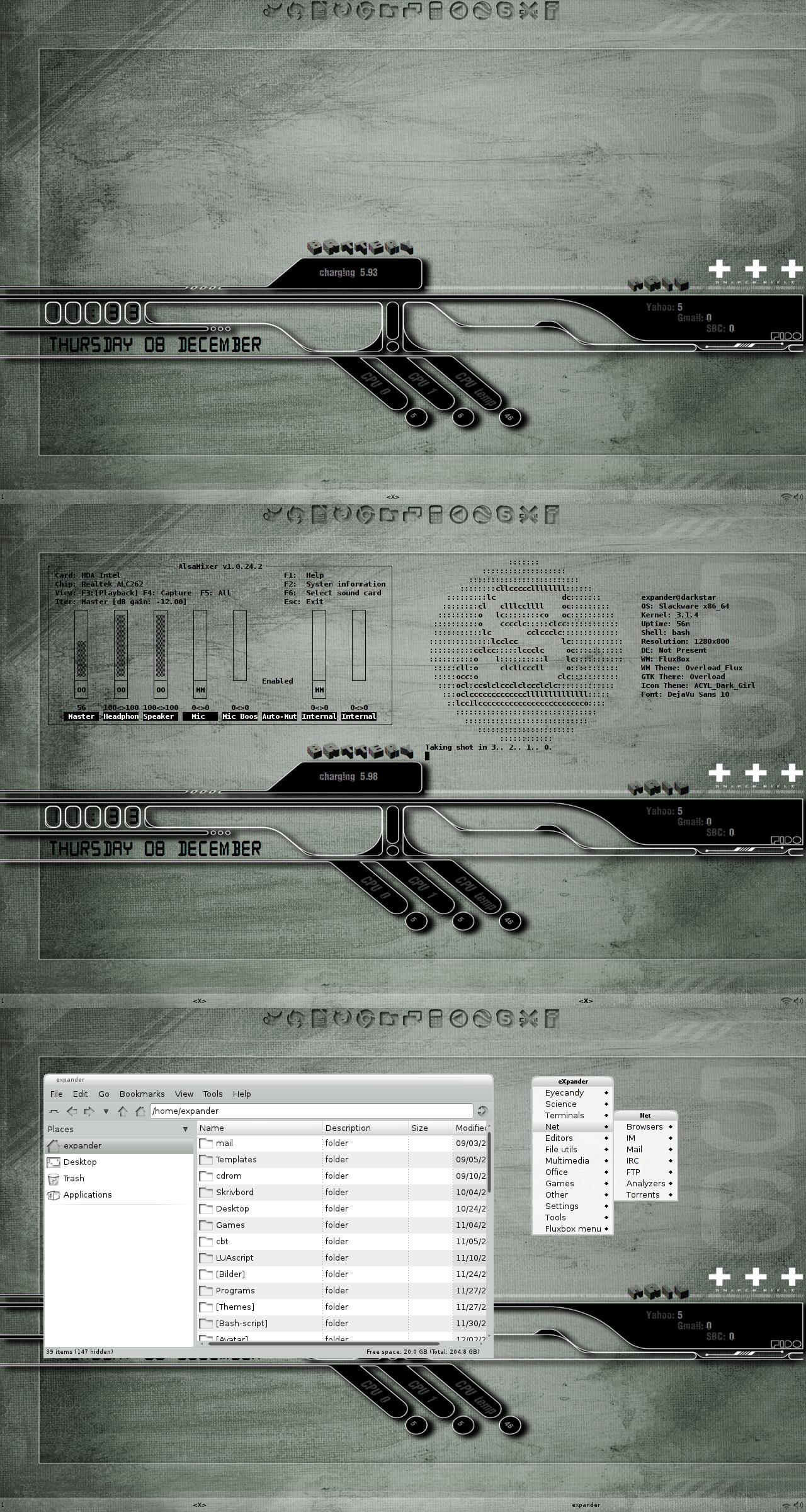 Desktop Overload by xeXpanderx