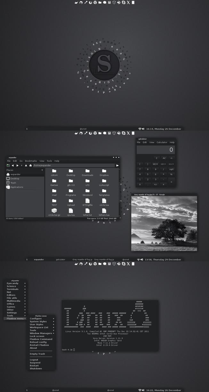 Slackware Desktop by xeXpanderx